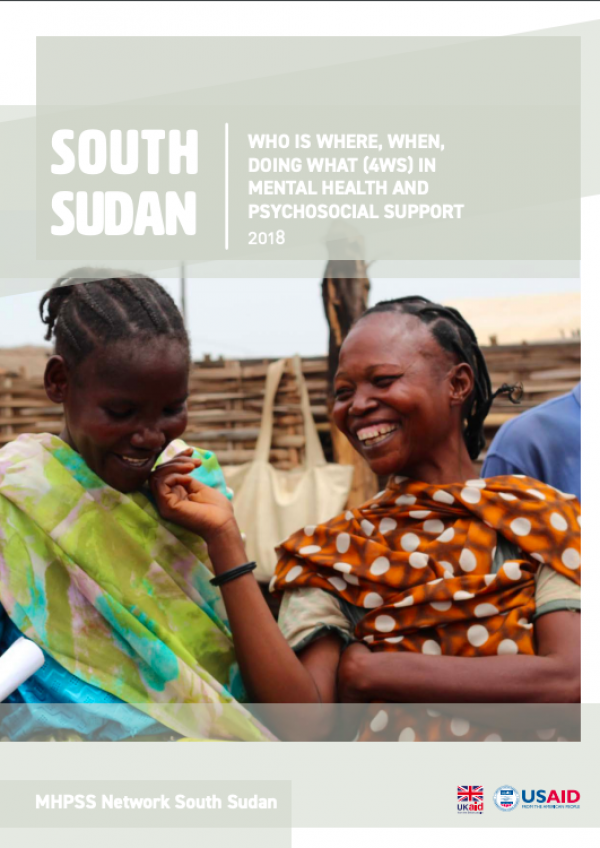South Sudan| Who is Where, When, Doing What (4Ws) in Mental Health and Psychosocial Support (2018)